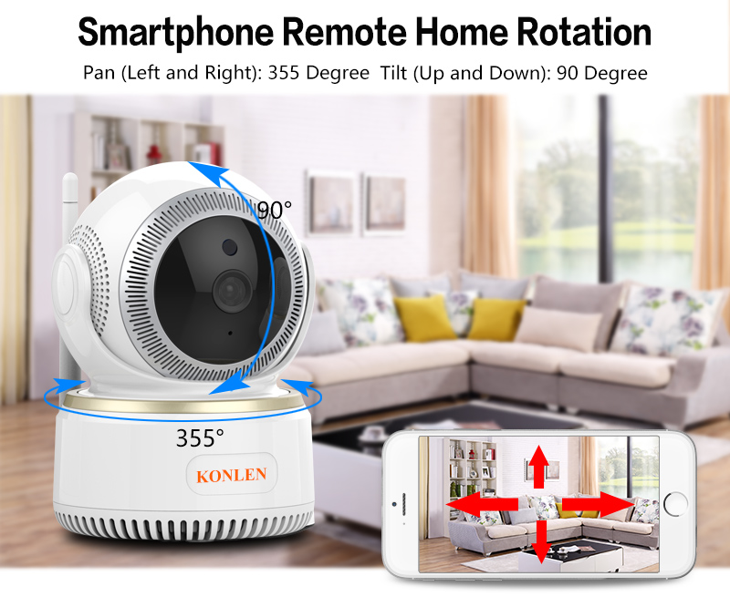 WIFI Wireless Security Camera 08