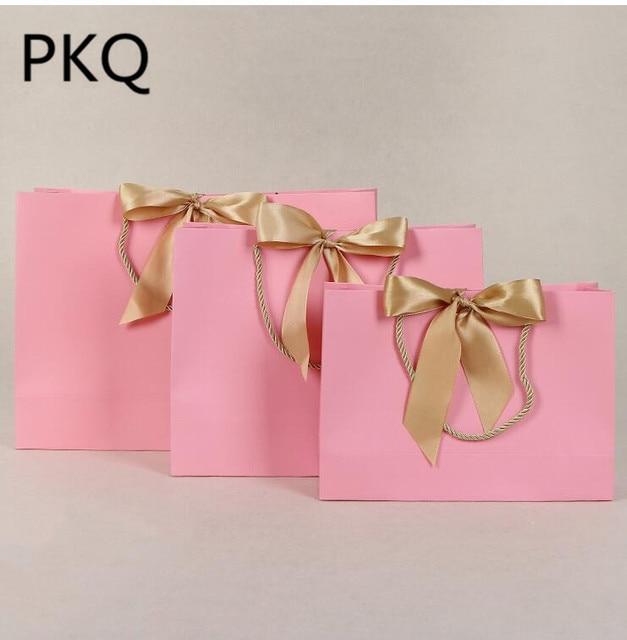 Aliexpress Com Buy 10pcs Portable Kraft Paper Bag Wedding Party
