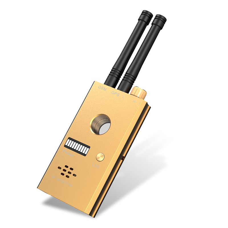 CC312 Wireless Scanner Signal GSM Device Finder RF Detector Micro Wave Detection Security Sensor Alarm Anti-Spy Bug Detect 1 pcs full range multi function detectable rf lens detector wireless camera gps spy bug rf signal gsm device finder