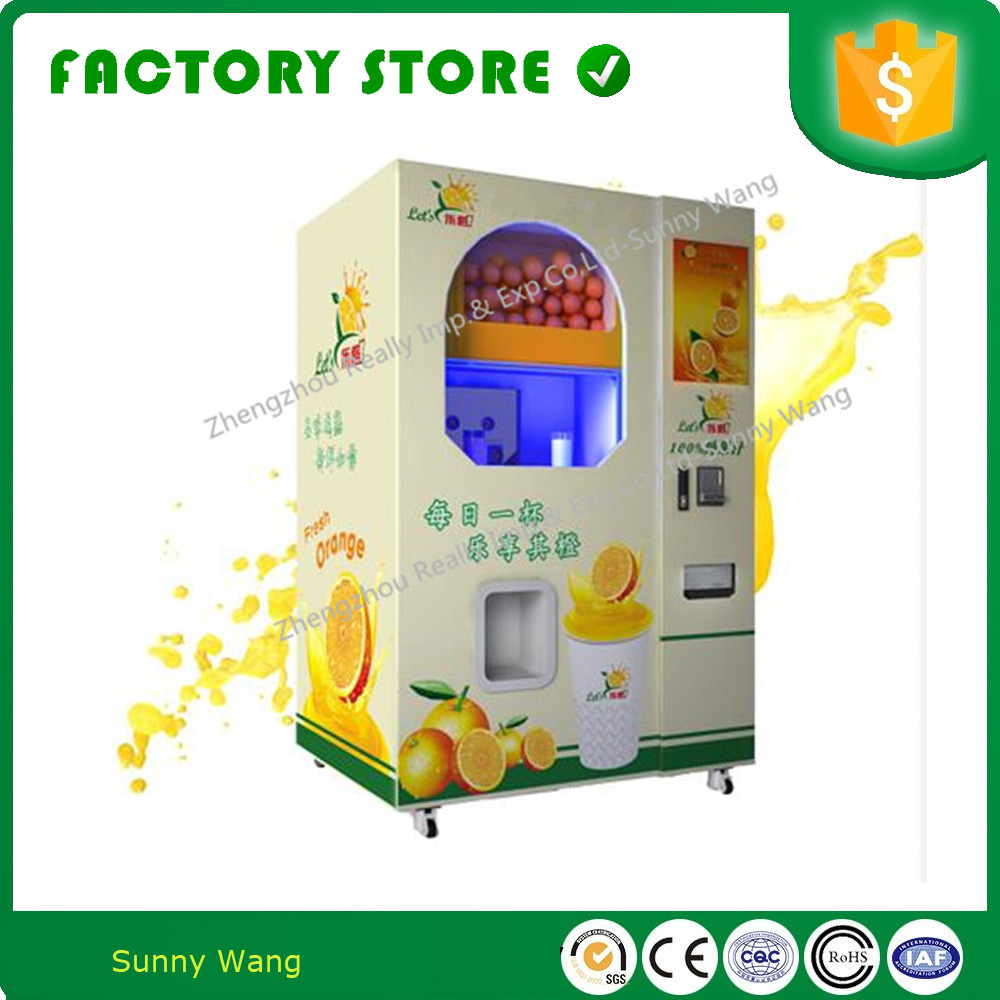 Outdoor Touch Screen Coin Operated Self Service Drinking Vending