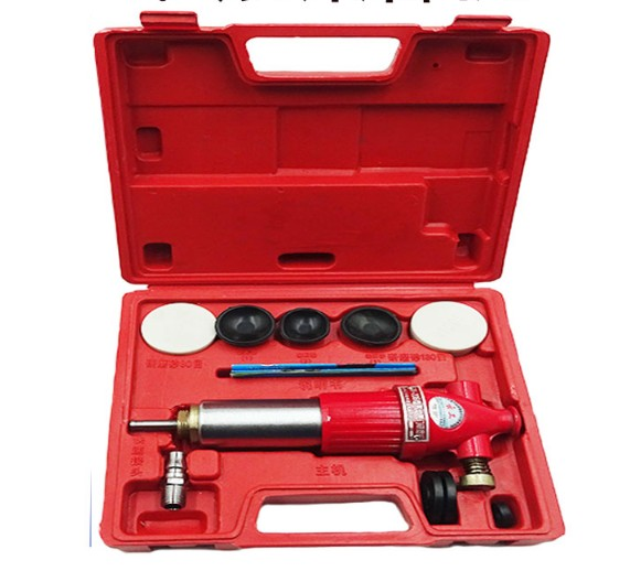 Air Operated Valve Lapper Automotive Engine Valve Repair Tool Pneumatic Valve Grinding Machine Valve Seat Lapping Kit Car Grind