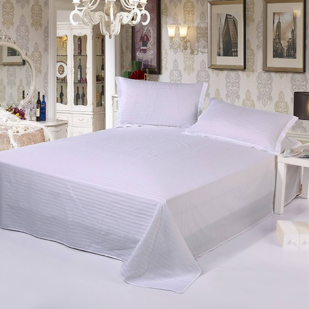 Best 5 Stars Plus Hotel bedspread bed sheet colchas bedspread white cubrecama colcha couvre lit stripe Line bed cover bed spread