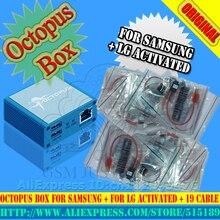 GsmjustoncctOriginal Octopus box Pełnej aktywacji do LG dla Samsung 19 Kabel kable w tym optimus Unlock Flash & Repair Tool