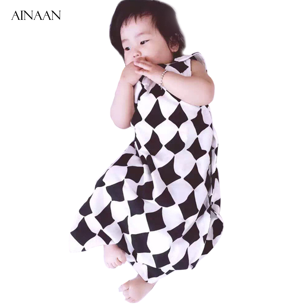 AINAAN Baby Sleeping Bag Tipi Black Baby Bag Cotton blanket Boys Girls Clothes Baby Slaapzak For Newborns