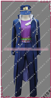 New Arriaval JOJO'S Bizarre Adventure Kujo Jotaro Cosplay Costume