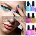 D134-142 Lavender Violets Fasion Hot Sale Soak Off UV LED Color Nail Gel Polish 8ml With Packing Box