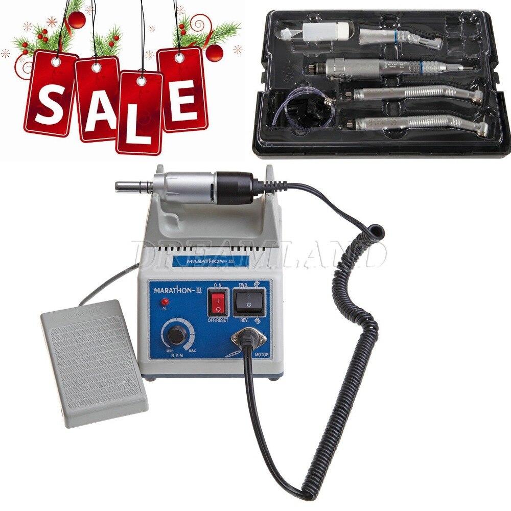 Nsk Style Dental Lab Marathon Electric Micro motor N3 Straight Low Speed Handpiece Polishing tools dental lab marathon micro motor polishing machine n3