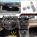Car Accelerator Pedal Pad / Cover of Original Factory Sport Racing Model Design For BMW 3 Series M3 E90 2004~2013 Tuning