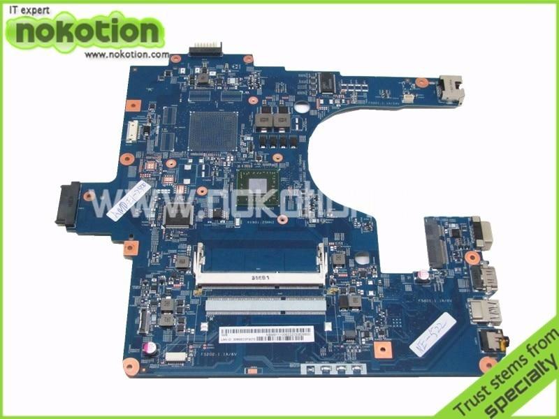 NOKOTION For Gateway NE522 1.4GHz Laptop Motherboard NBM8111006 48.4ZK06.03M tested nokotion sps v000198120 for toshiba satellite a500 a505 motherboard intel gm45 ddr2 6050a2323101 mb a01