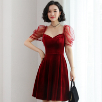 liva girl 2019 new Summer V Neck Buttons Short Sleeve Dress Dot Polka Elastic High Waist Lace up Chiffon Dresses