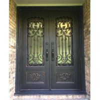 front iron gate design french doors exterior wrought iron