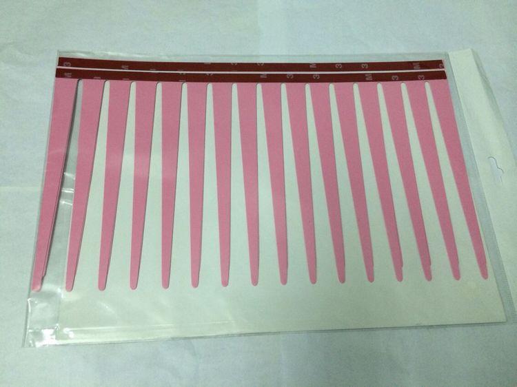 1000pair=2000pcs/lot Fashion Car Styling Decal Pink Eyelashes Vehicle Car Headlight Decorative Sticker
