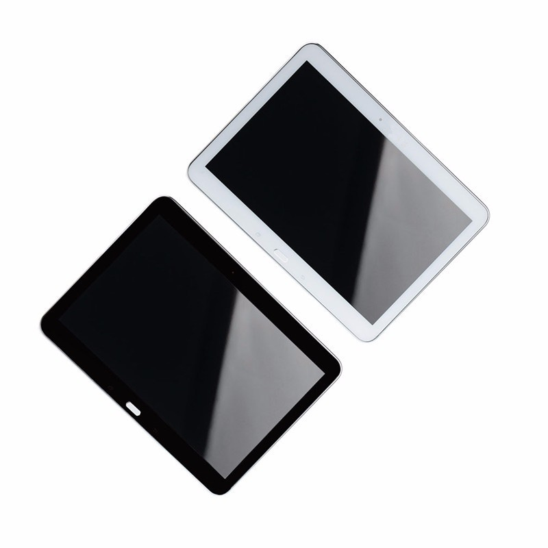 Display Touch Screen Tablet Panel LCD Combo Replacements With White Black Frame For Samsung Galaxy Tab 4 10.1 SM-T530 VAK77 T0.2