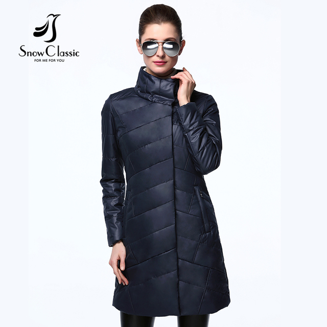 Snow Classic 2017 New Spring Autumn Women  Jackets Thin Cotton Padded Jacket Fashion Female Jackets And Coats 17306