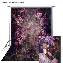 MEHOFOTO Wedding photography backdrop spring flower brick garden lawn couple background photo sutido photophone photocall decor professional 10x20ft muslin 100% hand painted scenic background backdrop spring flower wedding photography background