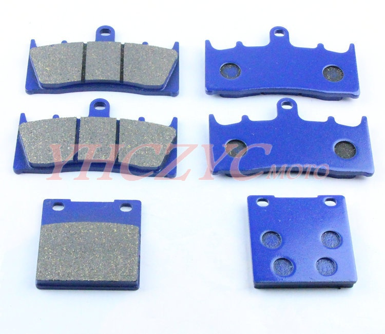 For KAWASAKI ZX12R ZX 12R 00 03 Motorcycle front and rear brake pads set