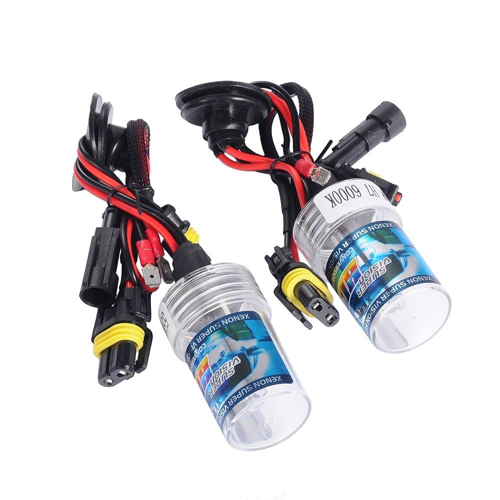 ФОТО 2Pcs H7 5000K 55W Car Head Light Replacement Xenon HID Headlight  Bulb  Lamp Truck With HID Ballast