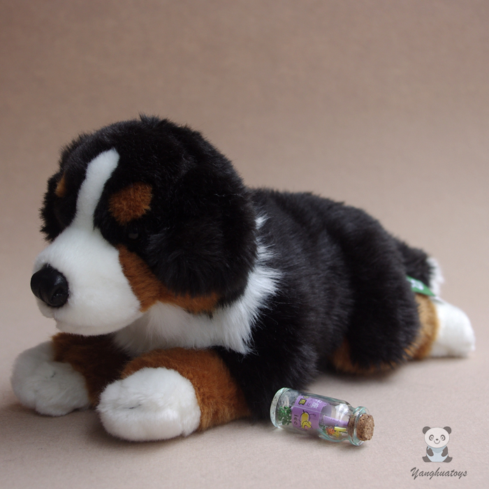Children's Toys Pillow Simulation Bernese Mountain Dogs Doll Plush Big Toy Dolls Gifts plush animals black footed ferret doll stuffed children s toys simulation animal dolls rare gifts