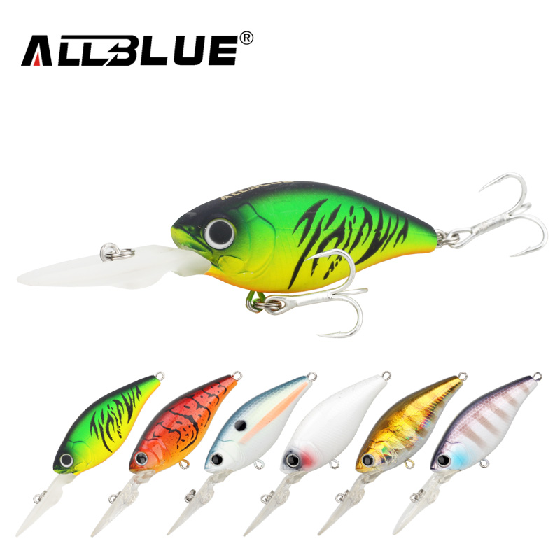 ALLBLUE Suspending Deep Diving Crankbait Fishing Lures 8.2g/50mm Lifelike Wobblers With 8# Owner Hooks peche isca artificial 1pcs 12cm 14g big wobbler fishing lures sea trolling minnow artificial bait carp peche crankbait pesca jerkbait ye 37