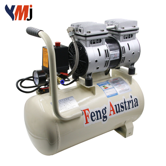 e9f35f59a3ea1d 600W super low voice low pressure 30L air compressor for YMJ lcd screen  repair machines