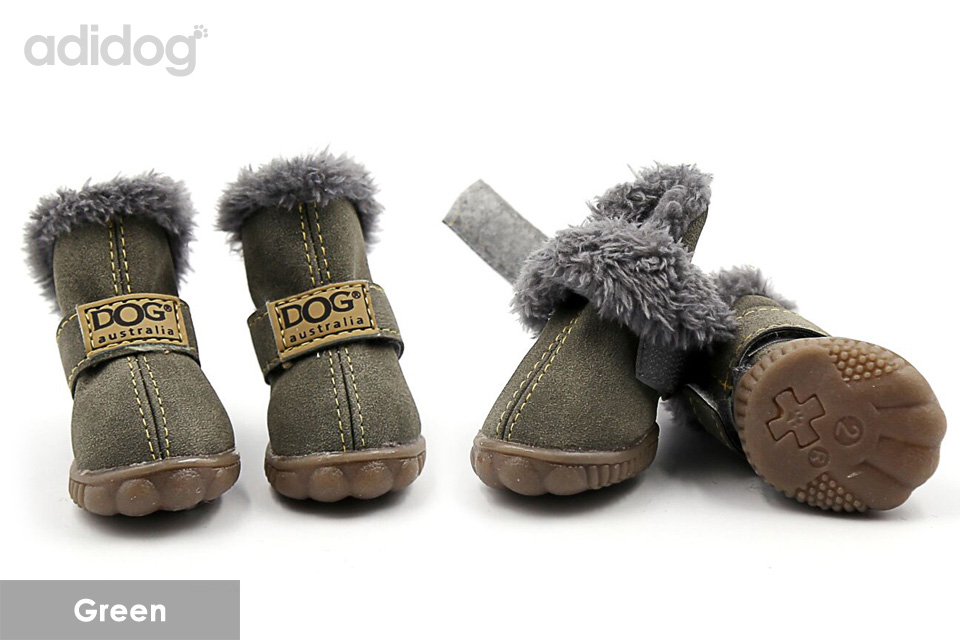 winter dog shoes 1