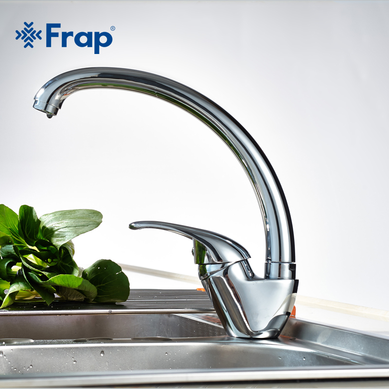 Frap 360 degree rotation Kitchen Faucet Single Handle for Kitchen Sink Mixer Tap Chrome Finish F4103 F4104 F4156 F4150 F4163 смеситель для мойки frap f4104