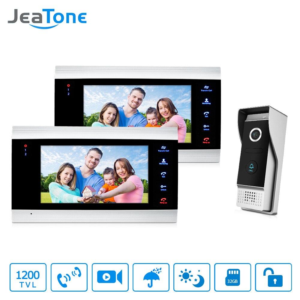 JeaTone Video Telefono Del Portello Citofono 7