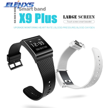 X9 плюс Умные часы Сенсорный экран Фитнес Приборы для измерения артериального давления Смарт Браслет с сердечного ритма Мониторы крови кислородом Мониторы