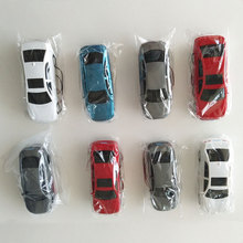 Teraysun 5pcs Scale Car Miniature Model Car/Vehicle 1:50 with LED lighting