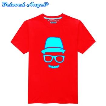 Children Clothing T-Shirt For Boys Fashion T Shirt Teen Girl Luminous Cotton Tops Teenage Boy Glow In Dark Kids Clothes Tshirts 5