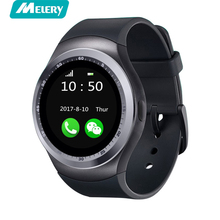 Y1 Good watch Bluetooth three.zero Wearable Males Ladies Classica Spherical Help Nano SIM TF Card With Bluetooth For Android IOS