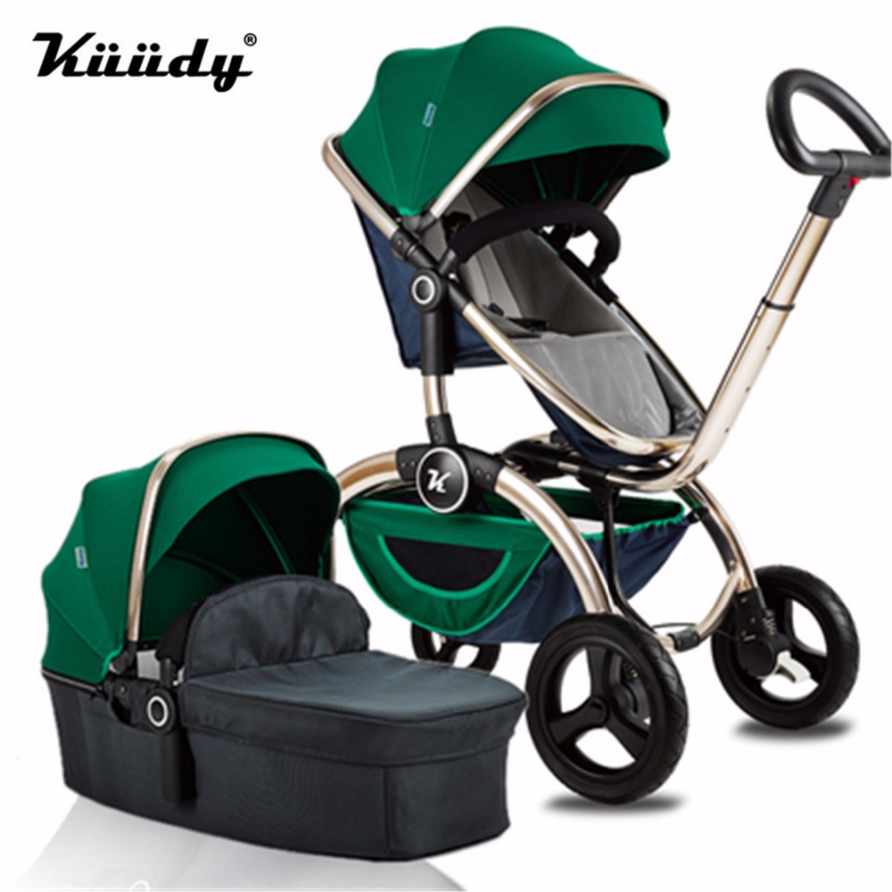 noble-style-baby-stroller-2-in-1-pushchair-independent-sleeping-basket-bassinet-folding-bidirectional-baby-carriage