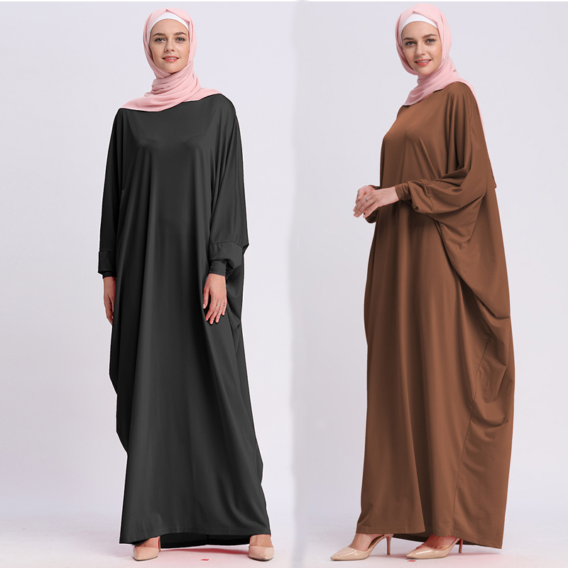 Kaftan Abaya Dubai Islam Turkey Long Muslim Hijab Dress Abayas For Women Caftan Marocain Turkish Islamic Clothing Jilbab Moslima
