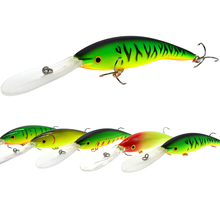 WLDSLURE 1PC Minnow Fishing Lure 135mm/14g  Crankbait Artificial Hard Bait peche Bass Pike Wobbler Long Tongue Minnow