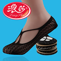 Langsha Brand 1 Pair Lace Sock Slippers Women Invisible Socks Women Ankle Socks No Show Ladies Slippers Women Low Socks Sexy