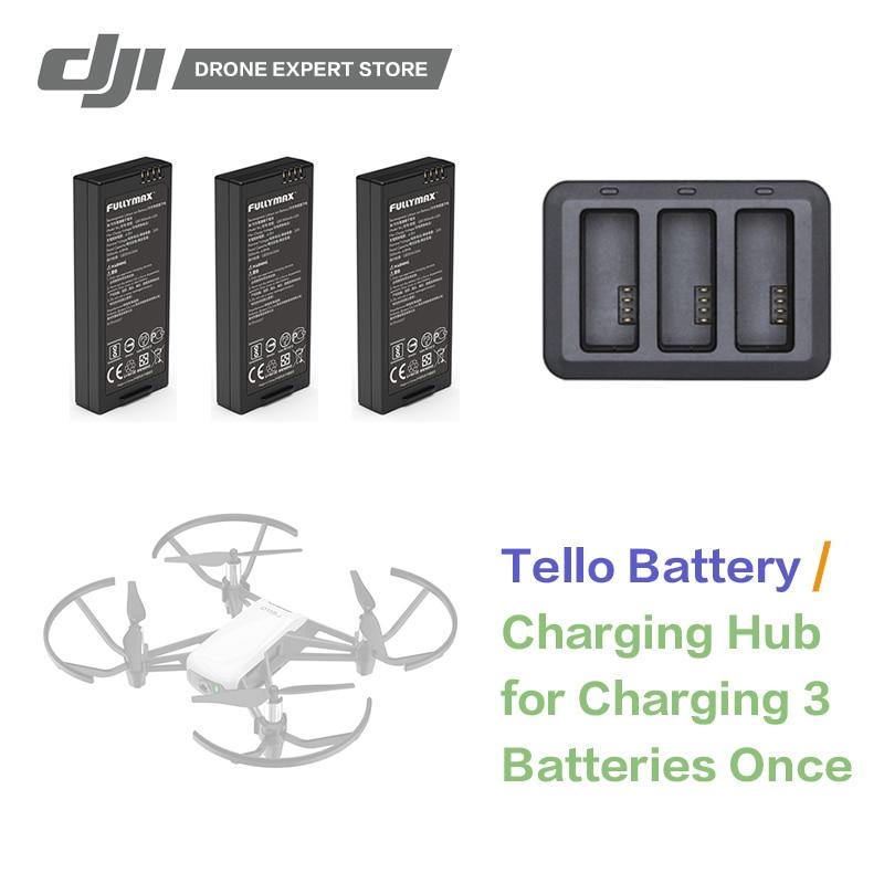DJI RYZE Tello baterías de vuelo/Tello de carga de la batería centro Original RC Drone Accesorios