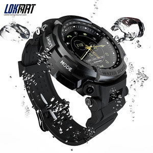 Image 2 - LOKMAT Sport Smart Watch Professional 5ATM Waterproof Bluetooth Call Reminder Digital Men Clock SmartWatch For ios and Android