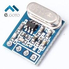 433 мГц syn115 спросить Беспроводной передатчик Модуль Низкая Мощность передачи доска DC 1.8-3.6 В 10dBm 15×11.8 мм