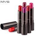 2016 New Arrival MYS brand beauty matte lipstick long lasting tint lips cosmetics lipgloss maquiagem makeup red batom