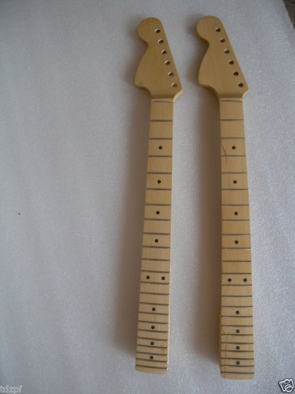 ФОТО New  Good Unfinished electric left guitar neck