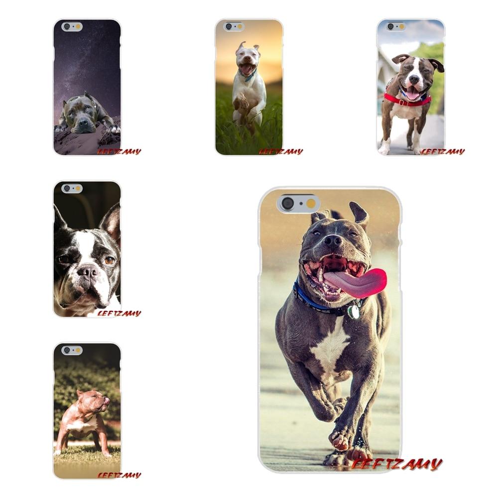 Аксессуары для телефона Чехлы для samsung Galaxy S3 S4 S5 мини S6 S7 край S8 S9 плюс Примечание 2 3 4 5 8 Pitbull Питбуль Собака