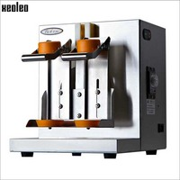 Xeoleo Stainless Steel Milk Shaking Machine Bubble tea Machine Double head Bubble Tea Shaking Machine