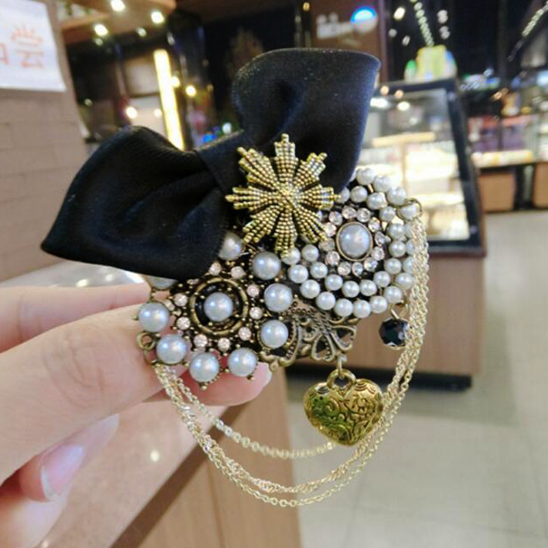 1c966ab8ec6 Detail Feedback Questions about New Woman Brooches Pins Big Ribbon ...