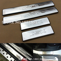 Accessories For Mitsubishi ASX RVR 2011 2012 2013 2014 2015 Door Sill Scuff Sill Plate Step Cover Trim Protector Sticker Styling