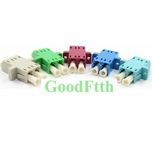 Fiber Optic Adapter Adaptor Coupler LC-LC Duplex SC footprint with Windows GoodFtth 100pcs/lot ainsworth william harrison windsor castle