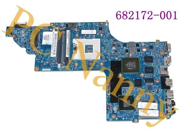 FOR HP Pavilion DV6 DV6T series laptop Motherboard 682172-001 Tested