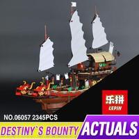 Lepin 06057 Destiny of the Bounty building blocks Bricks for children Toys Set Boy Game Team Castle Compatible with Decool bela
