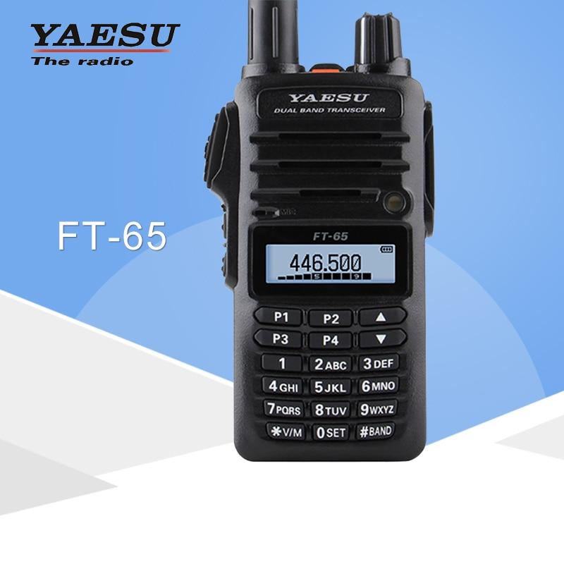 Per il Walkie-Talkie YAESU FT-65R Dual Band VHF136-174/UHF400-480MHz FM Ham Radio A due Vie RicetrasmettitorePer il Walkie-Talkie YAESU FT-65R Dual Band VHF136-174/UHF400-480MHz FM Ham Radio A due Vie Ricetrasmettitore