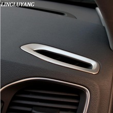 2PCS Car air conditioning vent cover trim strip font b interior b font dashboard outlet frame