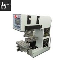pneumatic 1 color led cover pad printer,pad printing machine 1 color